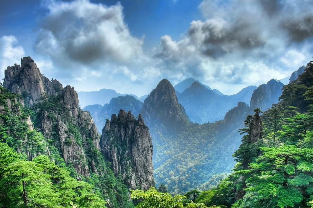 naczionalnyj park huanshan
