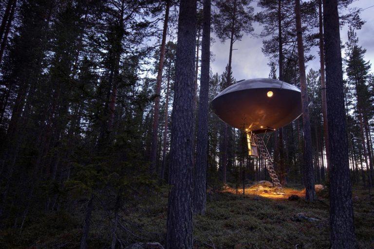 treehotel sweden ufo 768x512 1