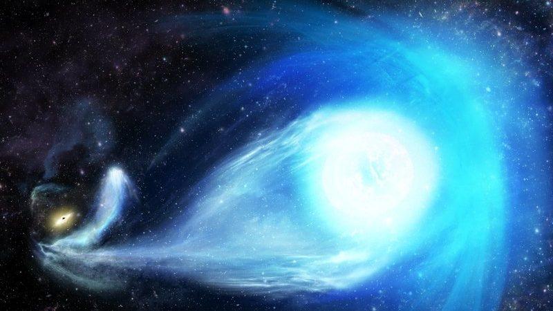 S5-HVS1: Самый быстрый объект во Вселенной