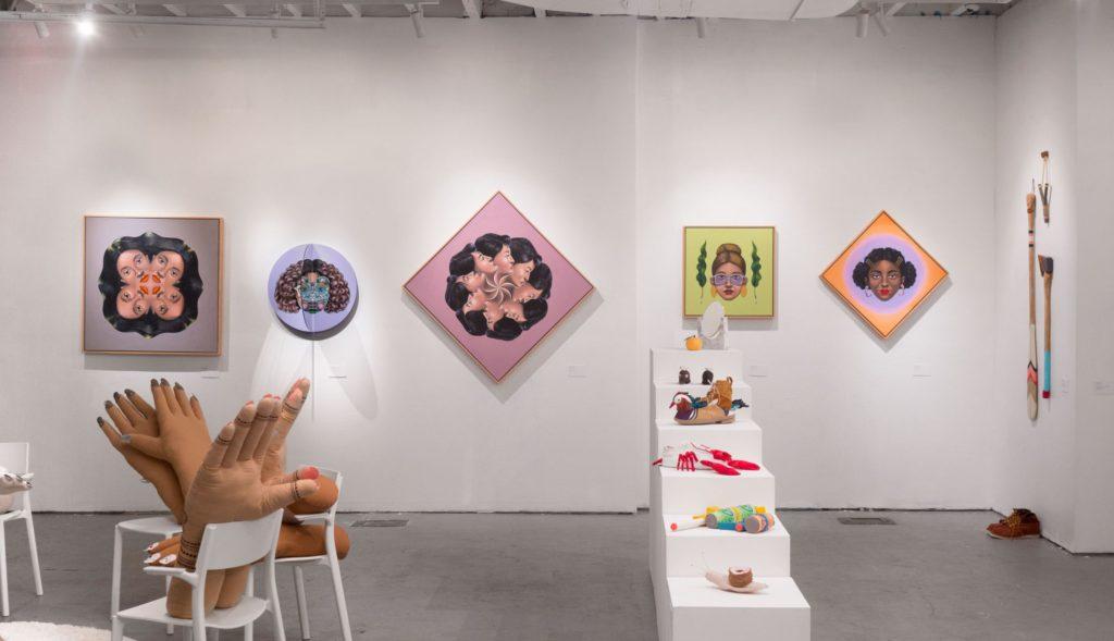 Первая выставка в Нью-Йорке совместно с Мими О Чун, фото Пола Трилло, 2018