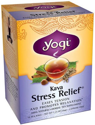kava stress relief tea 16 tea bags 40473