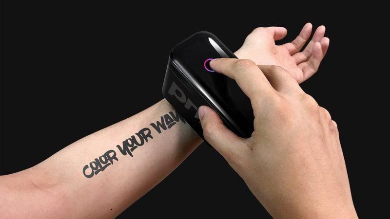 Prinker S домашнее устройство для нанесения татуировок