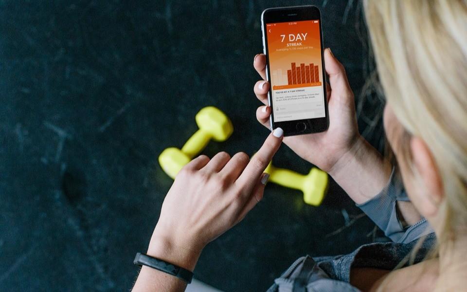 Фитнес-приложение всегда под рукой