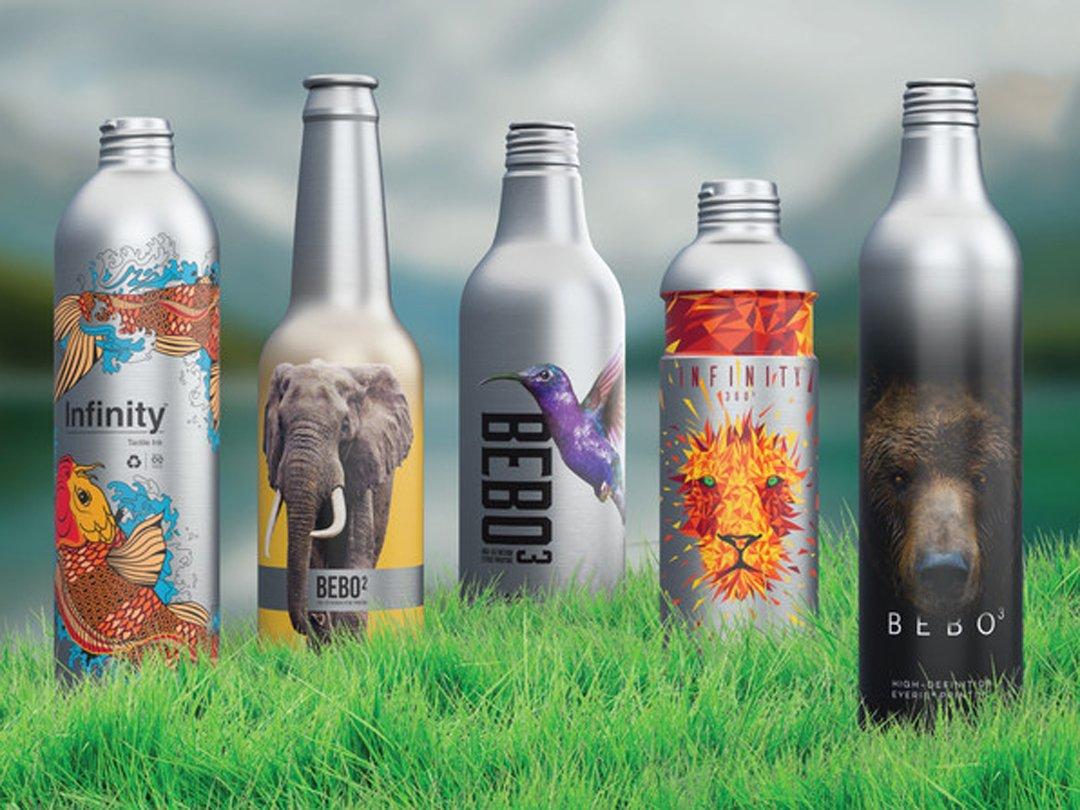Линия алюминиевых бутылок Ball Corporation без пластика