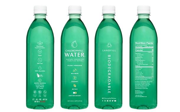 Chlorophyll Water выпускает биоразлагаемые бутылки