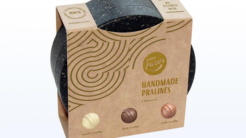 Компостируемая упаковка для шоколада