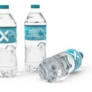 Экономичный дизайн бутылки X-Lite Still от Sidel