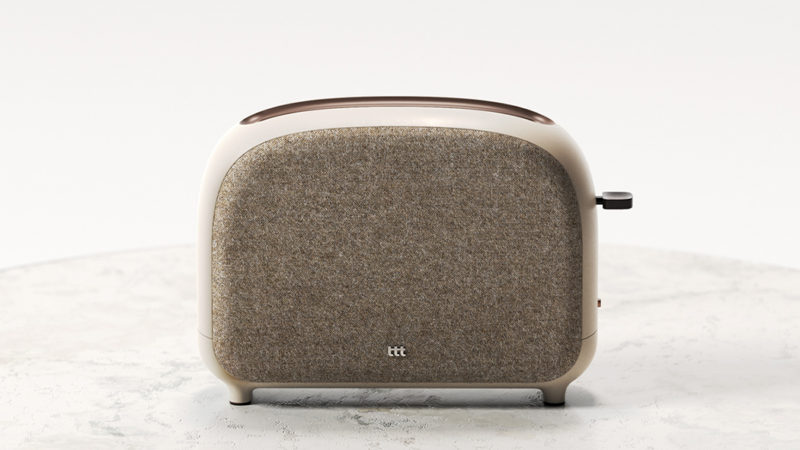 Концептуальный тостер для телефона