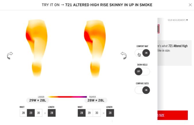 bodyvue heatmap