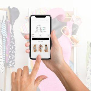 Contactless Fit ™ — это решение для магазинов одежды (бесконтактная примерка)