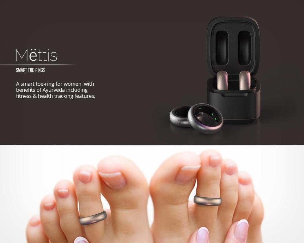 Концептуальные «Кольца Mettis» собирают данные о здоровье