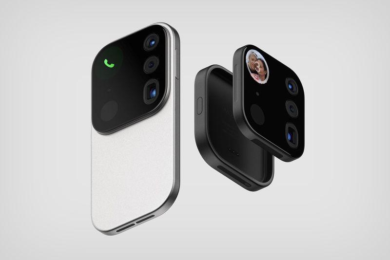 Концептуальный модуль камеры «Мозайка»