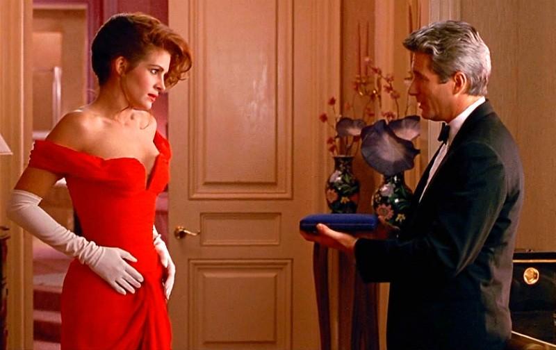 Секреты красного платья Джулии Робертс в «Красотке»