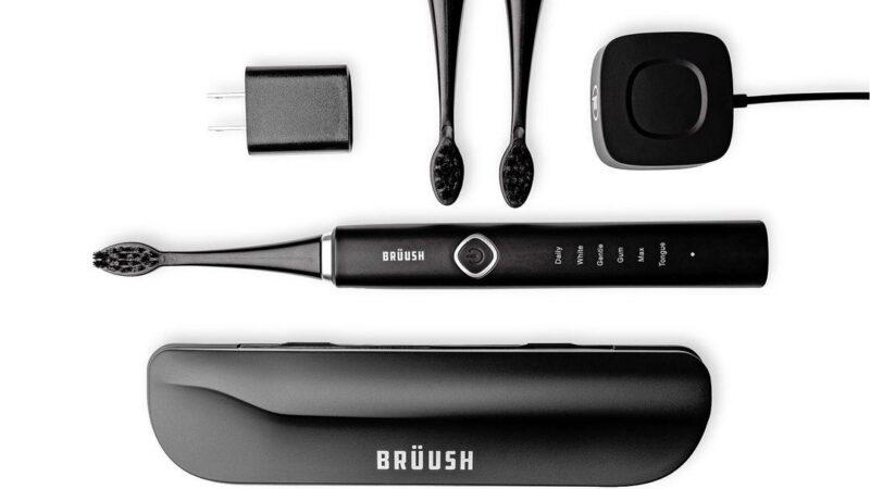 6 режимов ультразвуковой зубной щетки Brüush
