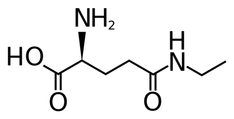 L-теанин формула