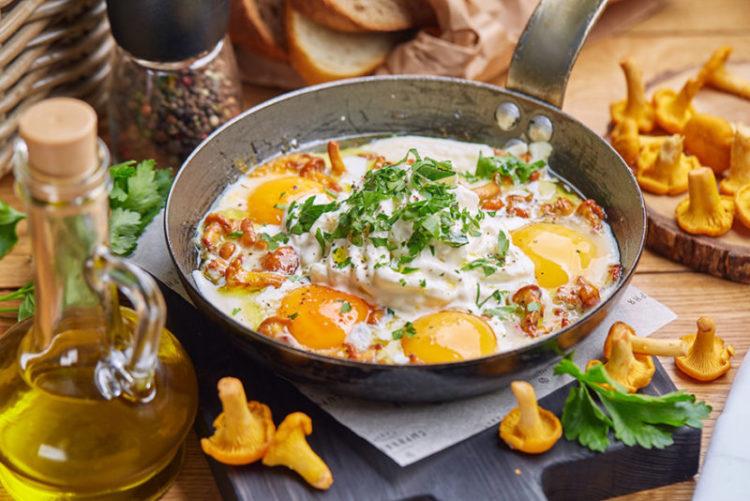 витамины группы Б в яйцах