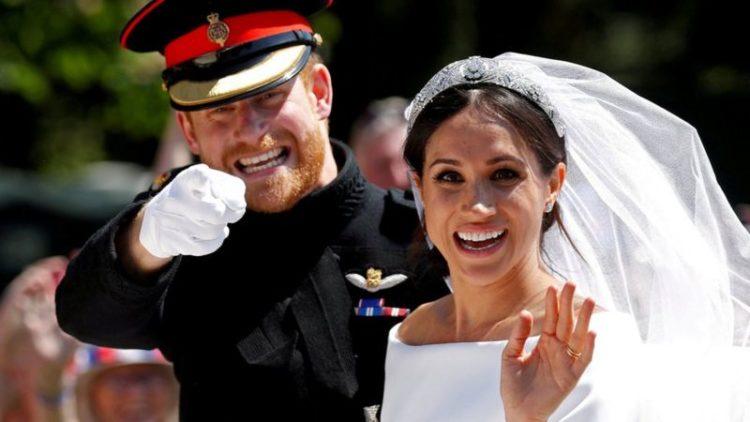 Гарри и Меган поженились в мае 2018 года