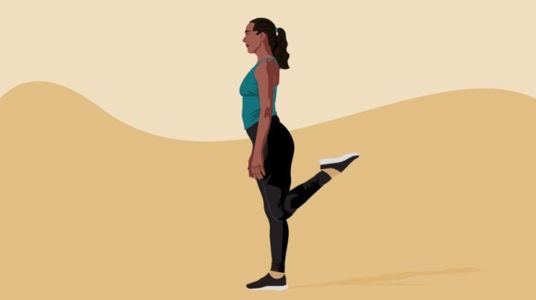 активная растяжка упражнения
