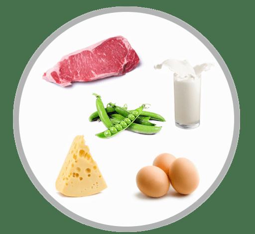 L-пролин в продуктах