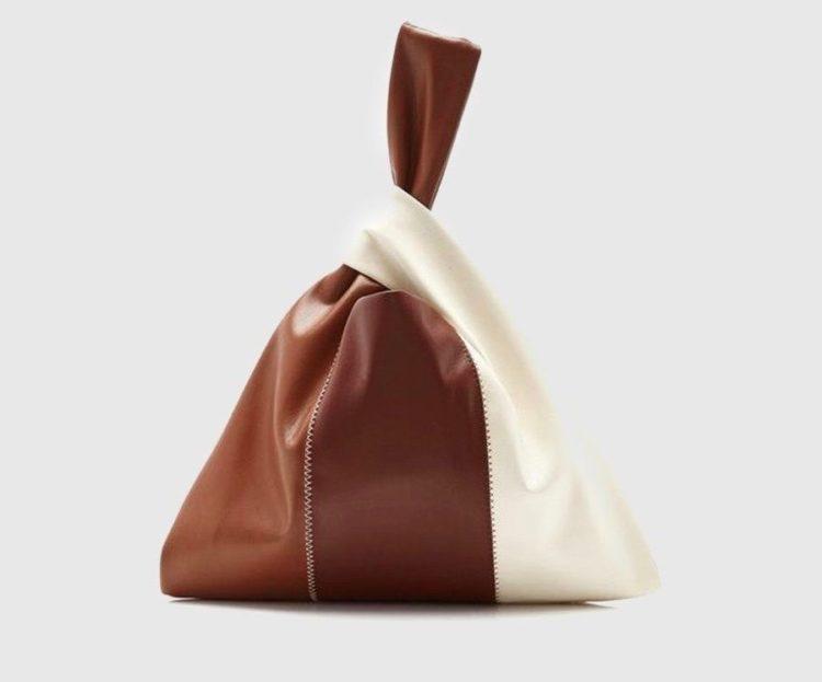 nanushka jen patchwork leather bag