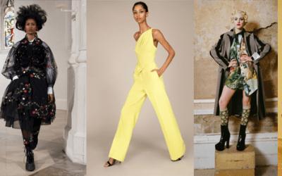 Неделя моды в Лондоне осень 2021 года количество промахов превышает количество хитов