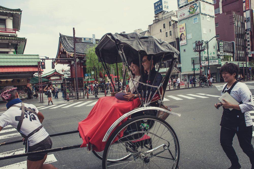 рикши Япония