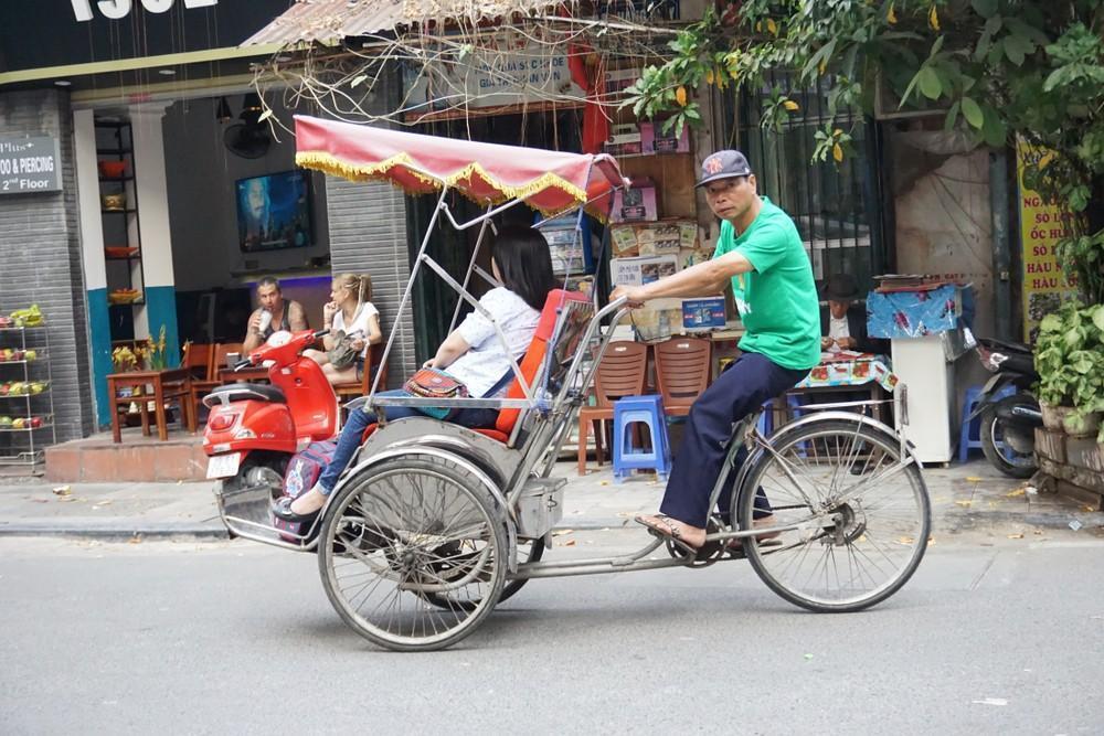 Cyclo (трехколесный велосипед) Вьетнам