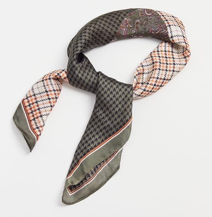 urban outfitters silky patchwork bandana
