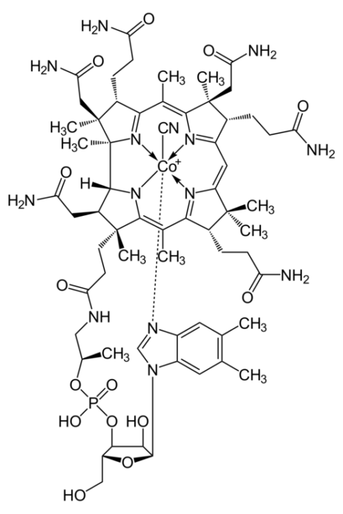 формула Витамин B12