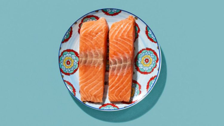 лосось - источник витамин D