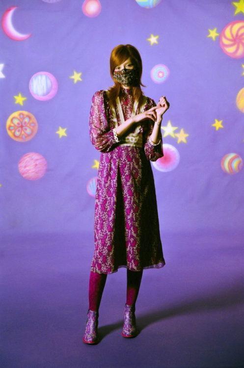 Неделя моды в Нью Йорке Anna Sui