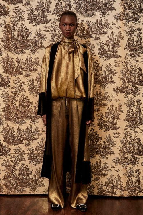 Неделя моды в Нью Йорке Badgley Mischka