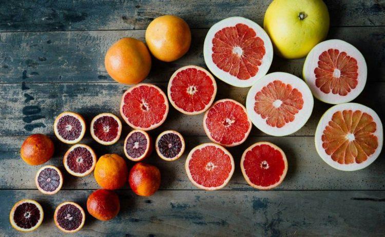 Биофлавоноиды содержатся в грейпфрутах