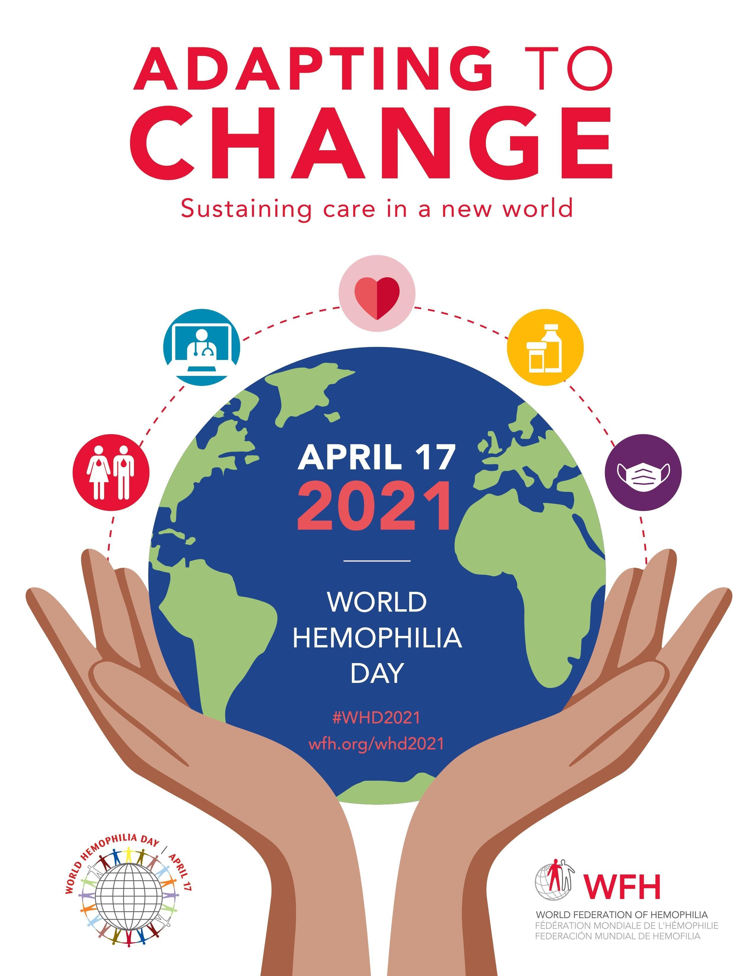 WFH (World Federation of Hemophilia) Всемирный день гемофилии
