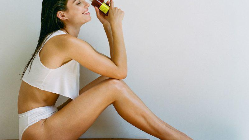 Нежирное масло для тела для сияния кожи этим жарким летом
