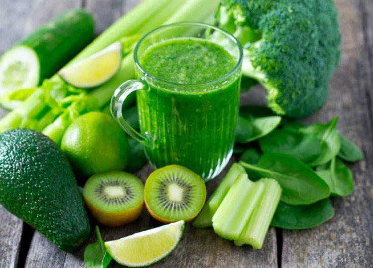 Хлорофилл в зеленых овощах и зелени