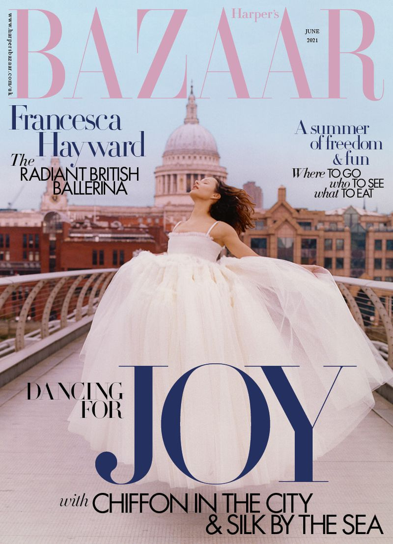 Британский Harper's Bazaar. Люблю танцы, а не платье. Июнь 2021