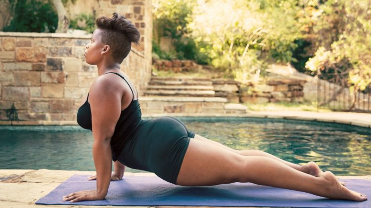 йога снимает стресс