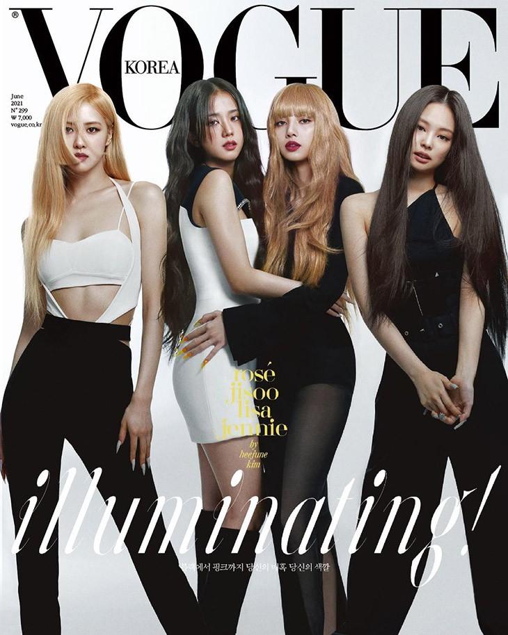 Vogue Корея июнь 2021. Еще одна мрачная июньская обложка…