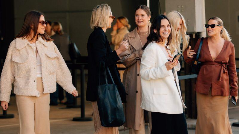 Лучший уличный стиль Sydney Fashion Week Resort 2022   Австралийская неделя моды 2022
