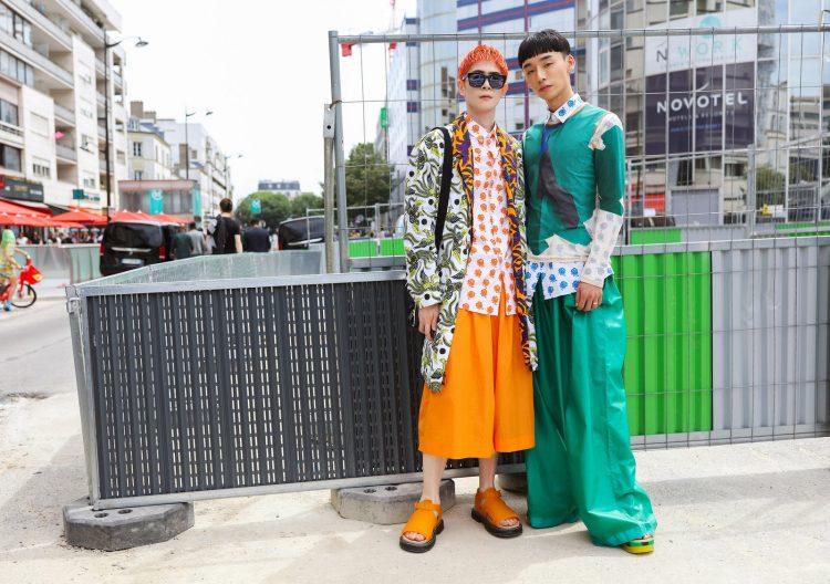 Летний уличный стиль в Париже 2020. Мужская уличная мода