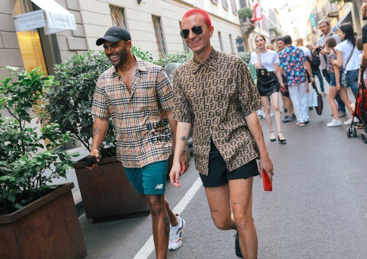 Летний уличный стиль в Милане 2020, мужская уличная мода