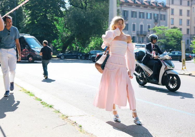 Летний уличный стиль в Милане 2020