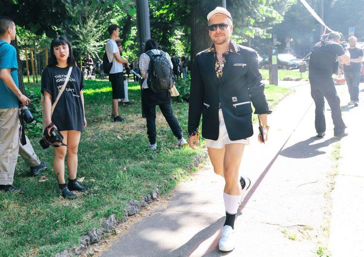 Летний уличный стиль в Милане 2020, мужская одежда