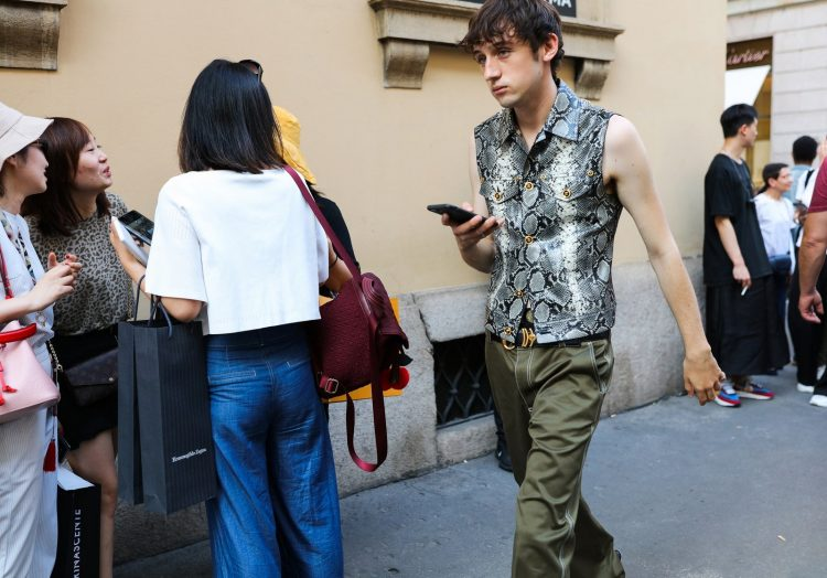 Летний уличный стиль в Милане 2019