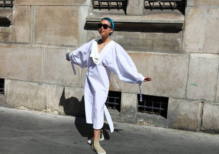 Летний уличный стиль в Париже 2019