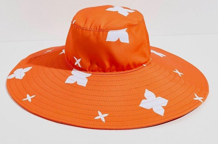 casa clara palmetto wide brim bucket hat