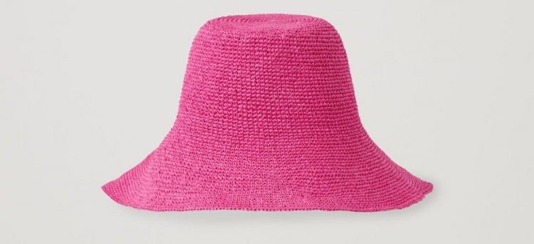 cos straw sun hat