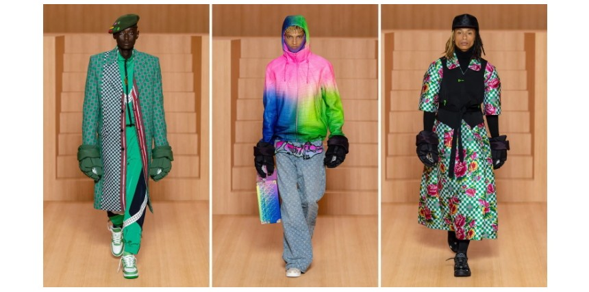 Louis Vuitton. Мужская мода 2022