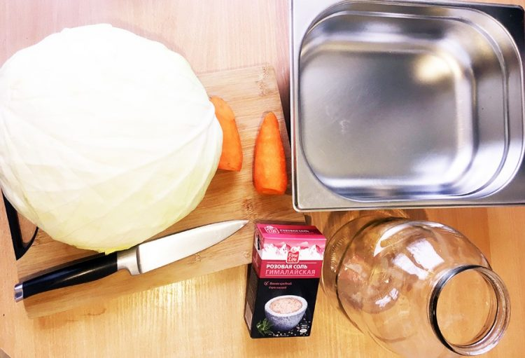 квашеная капуста - натуральный пробиотик